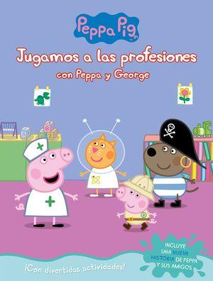 JUGANDO A LAS PROFESIONES CON PEPPA Y GEORGE
