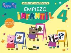 PEPPA PIG 4 AÑOS EMPIEZO INFANTIL - CUADERNO DE VACACIONES