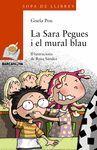 SARA PEGUES I EL MURAL BLAU, LA