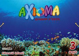 AXIOMA 3 ANYS - QUADERN D' ESTIU