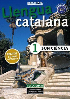 LLENGUA CATALANA SUFICIENCIA 1 - SOLUCIONARI