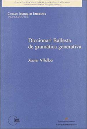 DICCIONARI BALLESTA DE GRAMÀTICA GENERATIVA