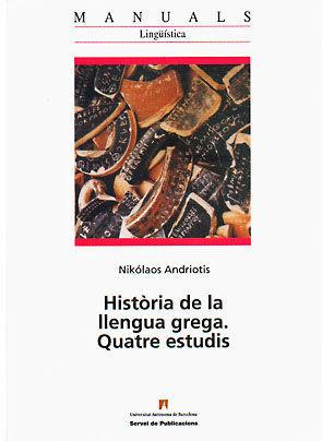 HISTORIA DE LA LLENGUA GREGA