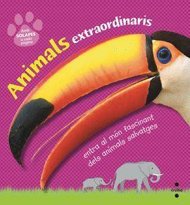 ANIMALS EXTRAORDINARIS (AMB SOLAPES A CADA PÀGINA)