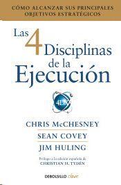4 DISCIPLINAS DE LA EJECUCIÓN, LAS