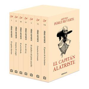 CAPITÁN ALATRISTE, EL  ( PACK 7 VOLS. )  25 ANIVERSARIO