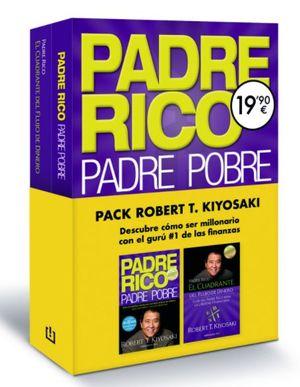 PACK ROBERT T. KIYOSAKI  ( PADRE RICO, PADRE POBRE + EL CUADRANTE DEL FLUJO DEL DINERO )