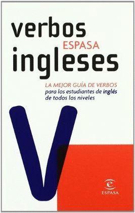 VERBOS ESPASA INGLESES