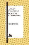 POESÍAS COMPLETAS (JORGE MANRIQUE)