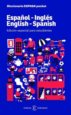 DICCIONARIO ESPASA POCKET ESPAÑOL - INGLÉS / ENGLISH - SPANISH