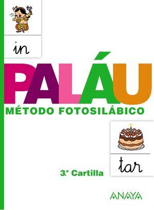 MÉTODO FOTOSILÁBICO 3ª CARTILLA