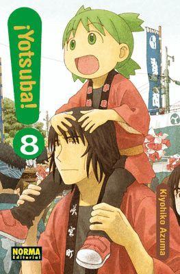 YOTSUBA! Nº 08