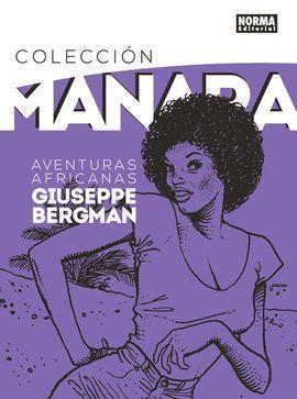 GIUSEPPE BERGMAN. AVENTURAS AFRICANAS. COLECCION MANARA 5.