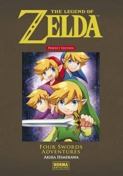 LEGEND OF ZELDA PERFECT EDITION: FOUR SWORDS ADVENTURES, THE