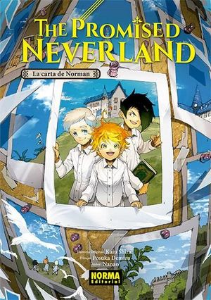 THE PROMISED NEVERLAND:LA CARTA DE NORMAN
