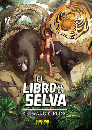 LIBRO DE LA SELVA, EL (CLASICOS MANGA)