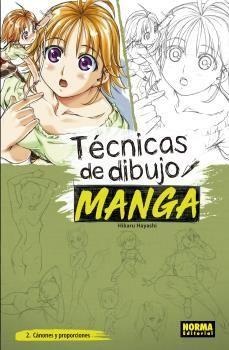 TECNICAS DE DIBUJO MANGA 02- CÁNONES Y PROPORCIONES