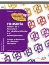 TEMARIO VOL V.FILOSOFIA.HISTORIA DE LA FILOSOFIA II:DEL IDEALISMO ALEMAN A LA POSTMODERNIDAD