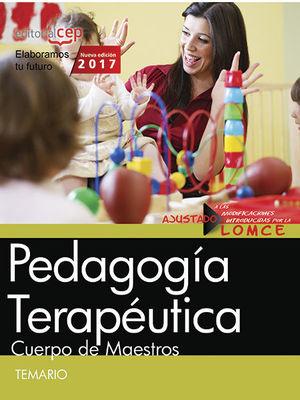 CUERPO DE MAESTROS - TEMARIO 1 - PEDAGOGÍA TERAPÉUTICA