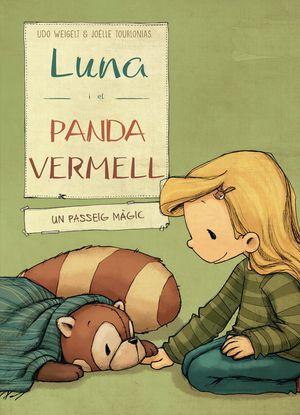 LUNA I EL PANDA VERMELL EN UN PASSEIG MAGIC