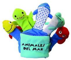 ANIMALES DEL MAR (LIBRO GUANTE)