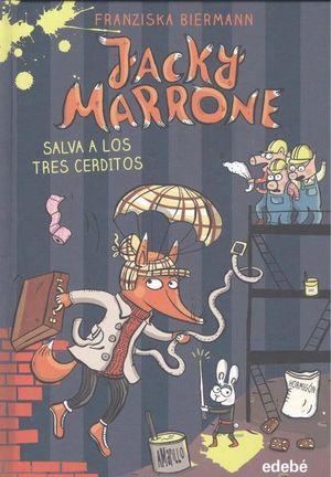 JACKY MARRONE SALVA A LOS TRES CERDITOS