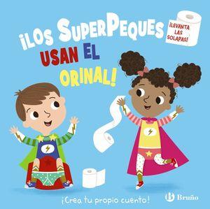 SUPERPEQUES USAN EL ORINAL, LOS