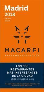 GUIA MACARFI 2018 RESTAURANTES BARCELONA / MADRID (ESPAÑOL / ENGLISH)