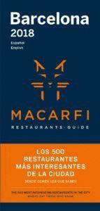 GUIA MACARFI 2018 RESTAURANTS DE BARCELONA (CATALÀ)