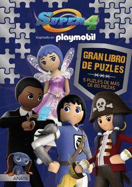 GRAN LIBRO DE PUZLES (5 PUZLES DE MAS DE 80 PIEZAS)