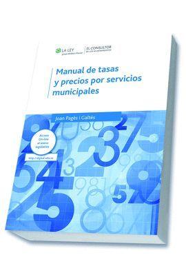 MANUAL DE TASAS PRECIOS POR SERVICIOS MUNICIPALES