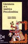LITERATURA DE LA AMERICA PRECOLOMBINA
