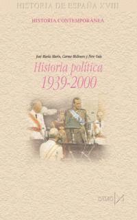 HISTORIA POLITICA 1939-2000