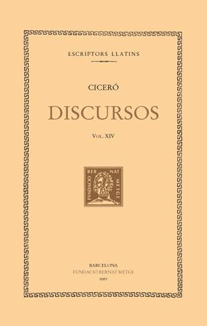 DISCURSOS, VOL XIV: DEFENSA DE PUBLI SESTI (DOBLE TEXT/RÚSTICA)