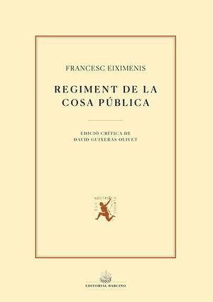 REGIMENT DE LA COSA PÚBLICA