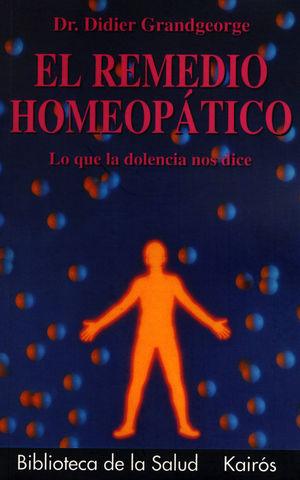 REMEDIO HOMEOPATICO, EL