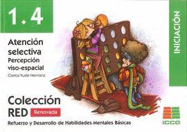ATENCIÓN SELECTIVA 1.4 PERCEPCIÓN VISO-ESPACIAL - INICIACIÓN