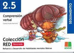 RED 2.5 (RENOVADO) COMPRENSION VERBAL SEGUIMIENTO (8-10 AÑOS)