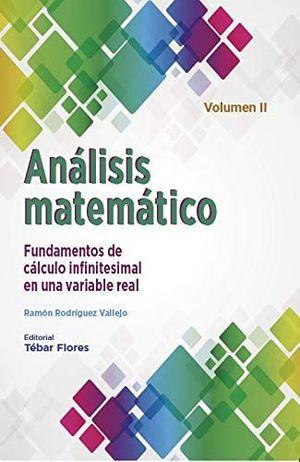ANÁLISIS MATEMÁTICO VOL. II