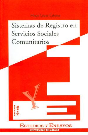 SISTEMAS DE REGISTRO EN SERVICIOS SOCIALES COMUNITARIOS