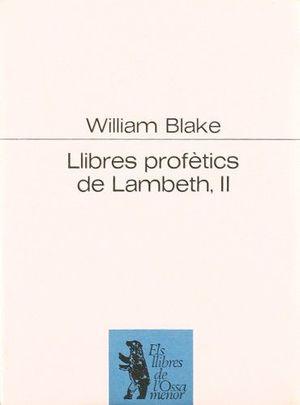 LLIBRES PROFETICS DE LAMBETH II