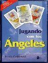JUGANDO CON LOS ANGELES  ( CAIXA 1 LLIBRE + 2 BARALLES DE CARTES)