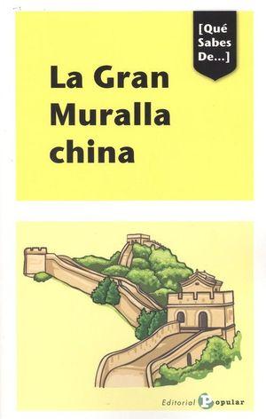 GRAN MURALLA CHINA, LA
