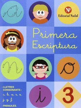 PRIMERA ESCRIPTURA 3  ( LLETRA LLIGADA )