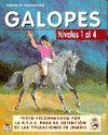 GALOPES. NIVELES 1 AL 4 CURSO DE EQUITACION