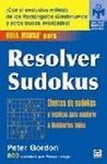 RESOLVER SUDOKUS