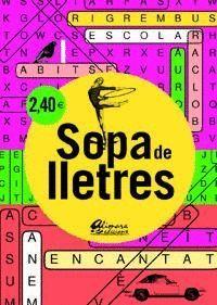 SOPA DE LLETRES 4