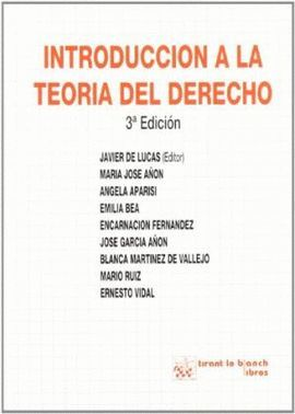 INTRODUCCION A LA TEORIA DEL DERECHO (3ª EDICION)
