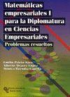 MATEMÁTICAS EMPRESARIALES I, PARA LA DIPLOMATURA EN CIENCIAS EMPRESARIALES