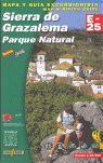 SIERRA DE GRAZALEMA - PARQUE NATURAL, MAPA Y GUIA EXCURSIONISTA